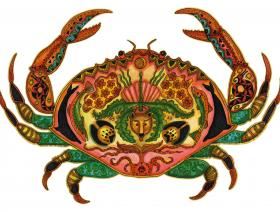 Crab - Wooden Jigsaw Puzzle