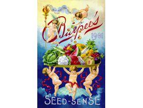 Burpee's Seed Packet - Wooden Jigsaw Puzzle