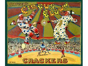 Circus Clown Crackers - Wooden Jigsaw Puzzle