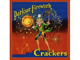 Parlour Firework Crackers - Wooden Jigsaw Puzzle