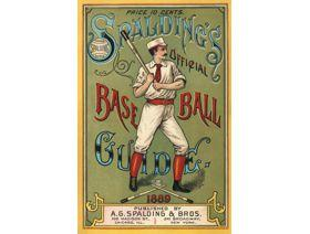 Spalding's Baseball Guide - Wooden Jigsaw Puzzle
