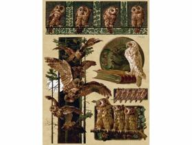 Owlery - Wooden Jigsaw Puzzle