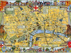 Map of London - Wooden Jigsaw Puzzle