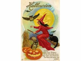 Fates and Fortunes Halloween - Wooden Jigsaw Puzzle