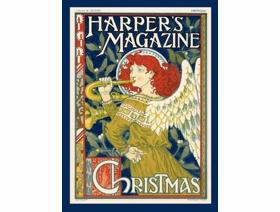 Harper's Magazine Christmas - Wooden Jigsaw Puzzle