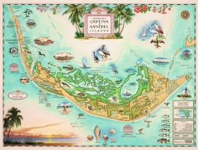 Captiva and Sanibel Islands - Wooden Jigsaw Puzzle