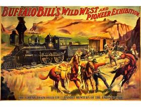 Buffalo Bill: The Great Train Holdup - Wooden Jigsaw Puzzle