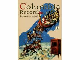 Columbia Records Christmas - Wooden Jigsaw Puzzle