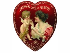 Long's Chocolate Dips - Wooden Jigsaw Puzzle