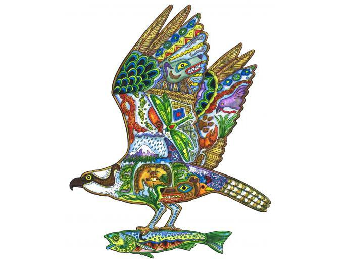 Osprey - Wooden Jigsaw Puzzle