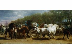 The Horse Fair - Wooden Jigsaw Puzzle