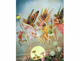 When the Fairies Came - Wooden Jigsaw Puzzle