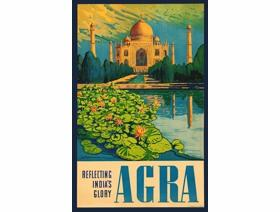 Agra - Wooden Jigsaw Puzzle