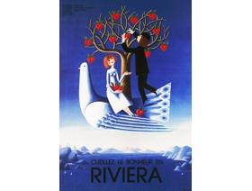 Happiness on the Riviera - Wooden Jigsaw Puzzle