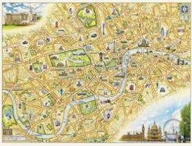 London Xplorer Map - Wooden Jigsaw Puzzle