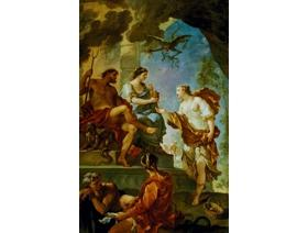 Psyche Obtaining the Elixir of Beauty - Wooden Jigsaw Puzzle