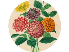 Dahlias - Wooden Jigsaw Puzzle