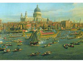 The Thames and the City - Wooden Jigsaw Puzzle