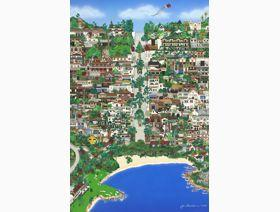 Carmel by the Sea - Wooden Jigsaw Puzzle