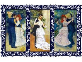 Three Dances - Wooden Jigsaw Puzzle