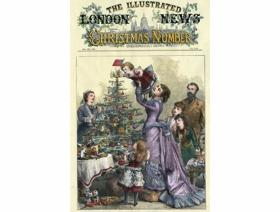 London News Christmas - Wooden Jigsaw Puzzle