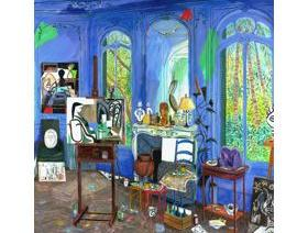 Picasso's Studio - Wooden Jigsaw Puzzle