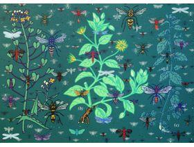 Plants and Bugs - Wooden Jigsaw Puzzle