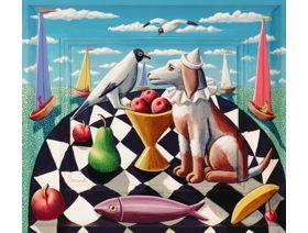 Sea Dog - Wooden Jigsaw Puzzle