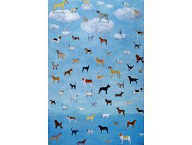 It's Raining Cats and Dogs - Wooden Jigsaw Puzzle