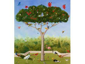 A Good Tree Can Lodge Ten Thousand Birds - Wooden Jigsaw Puzzle