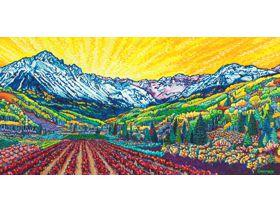 Vines Amongst the Rockies - Wooden Jigsaw Puzzle